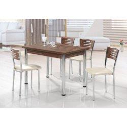 Комплект разтегателна маса с 4 стола Mizia I