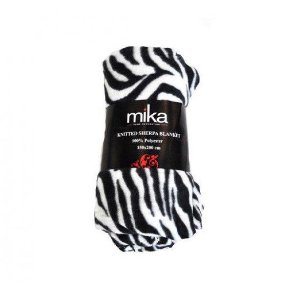 Одеяло Big Zebra White