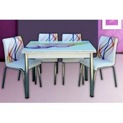 Комплект разтегателна маса с 4 стола Nora I