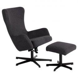 Офис кресло с табуретка Lexi