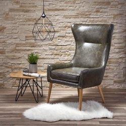 Кресло Favaro - тъмно зелено