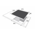 Стъклокерамичен плот BHMI 61414030