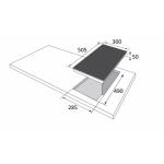 Стъклокерамичен плот BHCI 35133030
