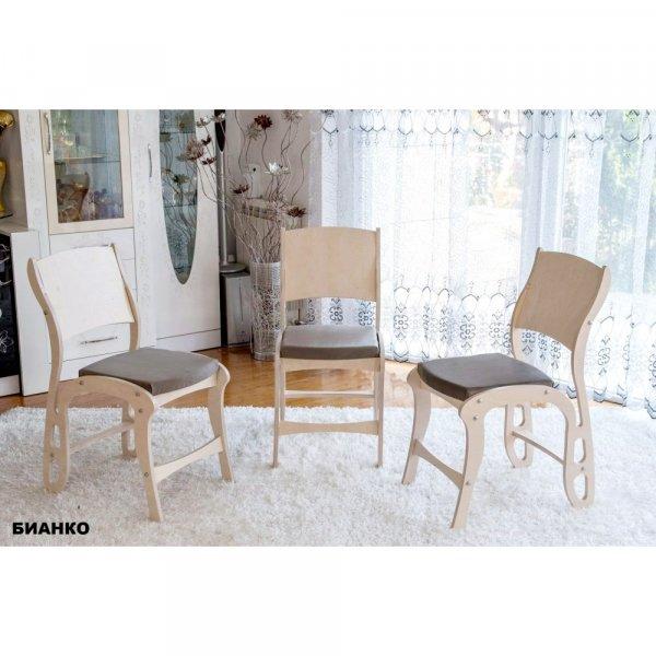Трапезен стол Далматинец - бианко