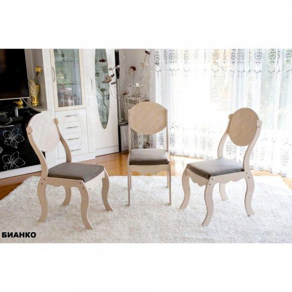 Трапезен стол Барок2 - бианко